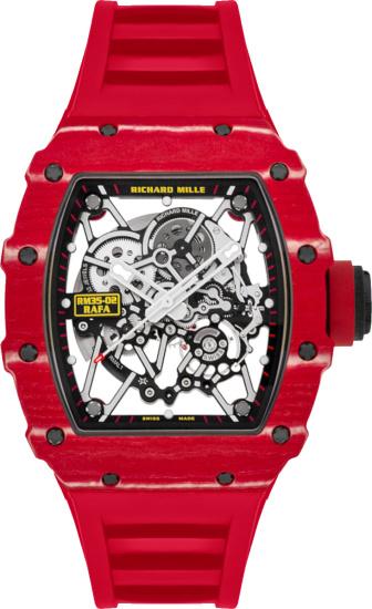 Richard Mille X Rafael Nadal Rm 35 02 Red Watch