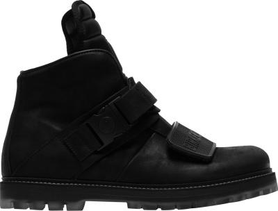 Rick Owens Birkenstock Black Rotterhiker Boots