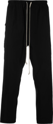 Rick Owens Black Cropped Pants