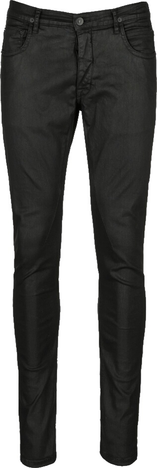 Rick Owens Black Waxed Jeans
