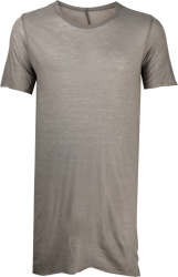 Rick Owens Dark Grey Light Weight Long T Shirt