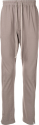 Rick Owens Grey Cotton Trackpants