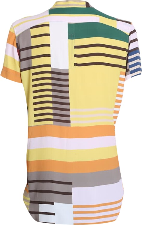 Rick Owens Multi Color Golf Shirt