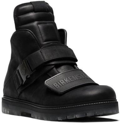 Rick Owens X Birkenstock Rotterhiker Boots Black