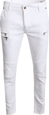 Rockstar Original White Biker Jeans