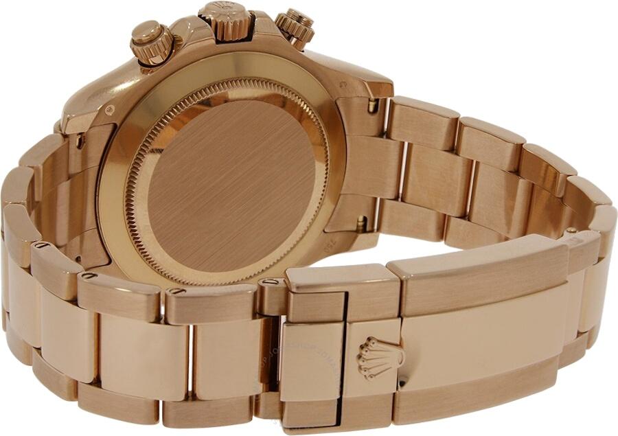 Rolex Cosmograph Daytona Chronograph Automatic Chronometer Black Dial Men's Watch