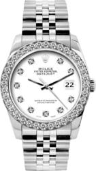 Rolex Diamond Bezel Datejust
