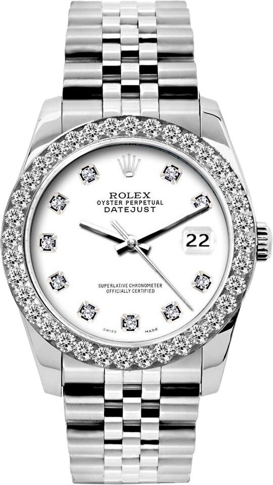 Rolex Diamond Bezel Datejust
