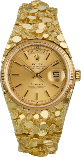 Rolex X Tiffany And Co Gold Baget Rolex
