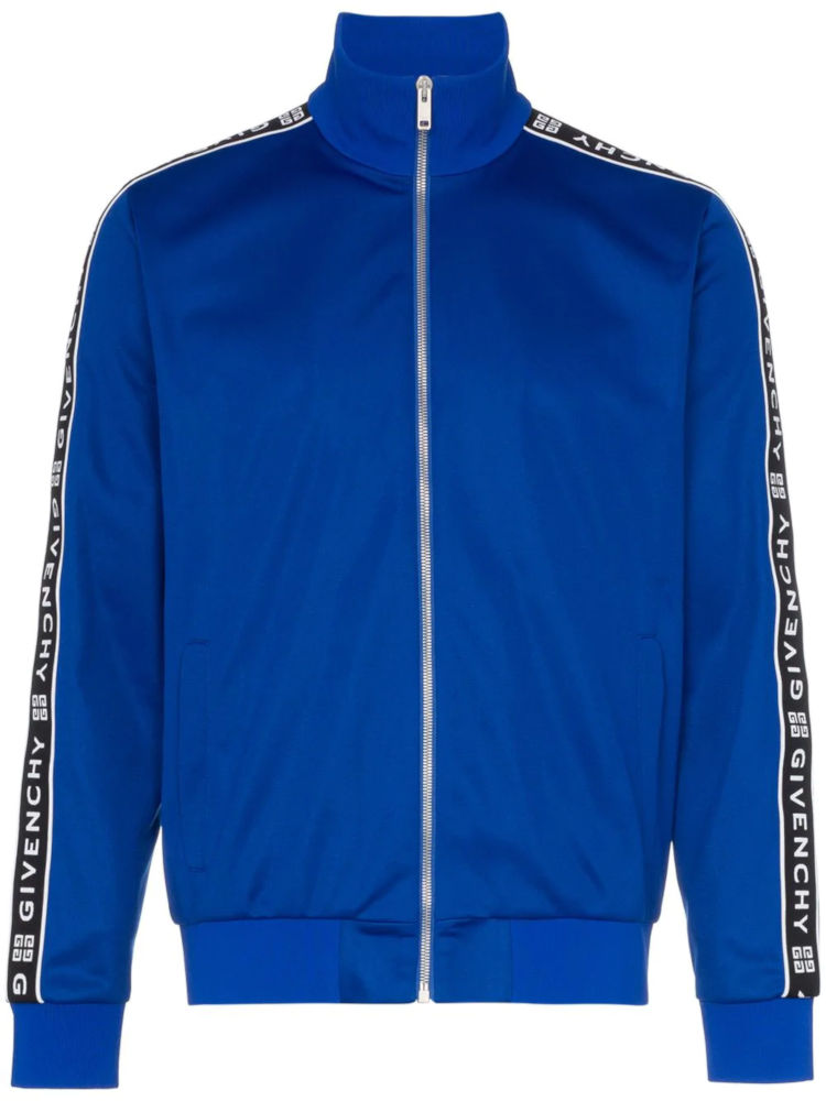Royal Blue Givenchy Track Jacket Worn By Pnb Rock