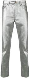 Saint Laurent Metallic Slim Fit Jeans Worn By Lil Uzi Vert'