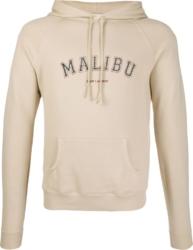 Saint Laurent Natural Malibu Print Hoodie