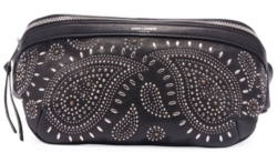 Saint Laurent Paisley Studded Belt Bag