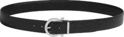 Black 'Gancini' Belt