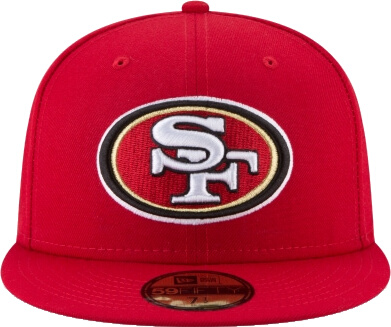 Sf 49ers Red 59fifty Hat