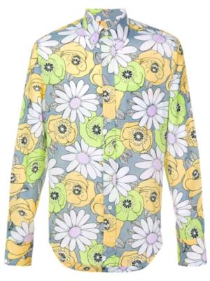 Slim Jxmmi Floral Prada Shirt