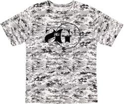 Grey Digital Camo T-Shirt