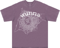 Spider Worldwide X Gunna Light Purple Zodiac T Shirt