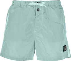 Stone Island Aquq Green Swim Shorts B0643
