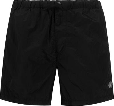 Stone Island Black Swim Shorts