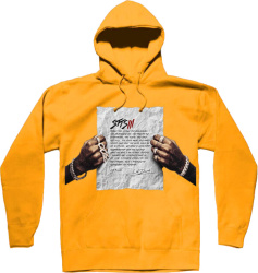 Stts3 Yellow Merch Hoodie