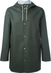 Studderheim Green Hooded Rain Coat