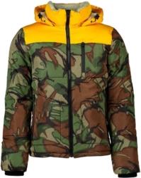 Superdry Camo And Orange Coat