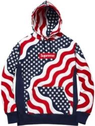 Supreme American Flag Hoodie