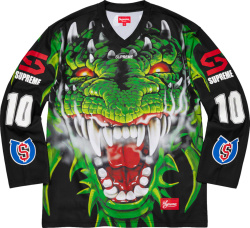 Supreme Black Dragon Hockey Jersey