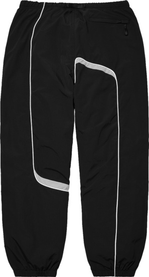 Supreme Black S Paneled Track Pants