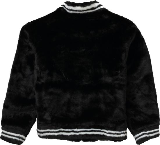 Supreme Black Ss20 Varisty Jacket