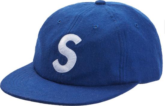 Supreme Blue Wool Kit Hat