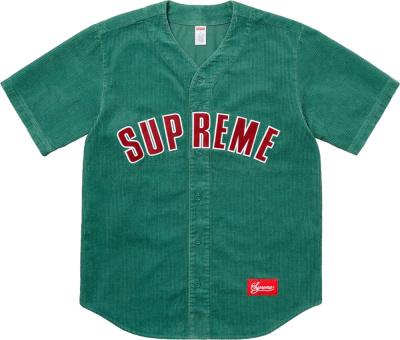 Supreme Green Corduroy Jersey