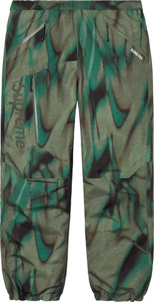 Supreme Green Paclite Pants