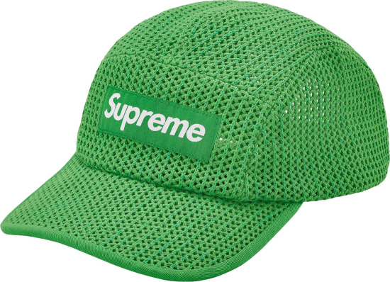 Supreme Green String Camp Hat