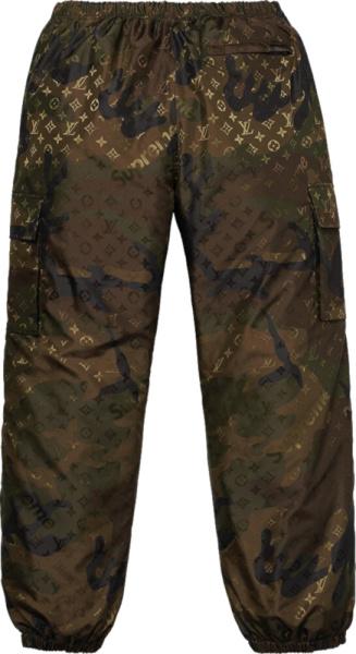Supreme Louis Vuitton Camouflage Pants