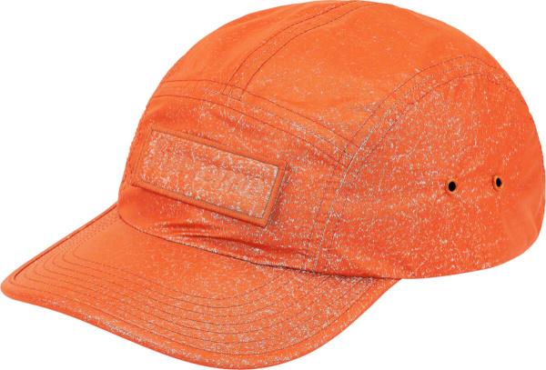 Supreme Orange Speckled Camp Cap