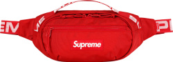 Supreme Red Belt Bag Ss18