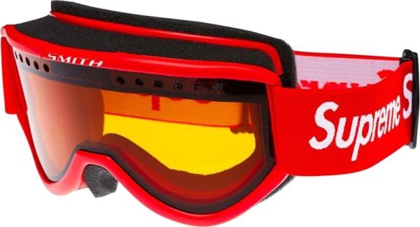 Supreme Red Ski Goggles