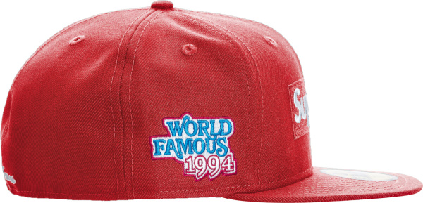 Supreme Red World Famous Hat