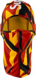 Supreme Red Yellow Black Camo Ski Mask
