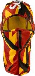 Red, Yellow, & Black Camo Balaclava