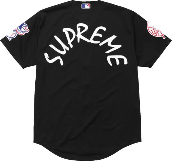 Supreme X 47 Brand Black Yankees Jersey