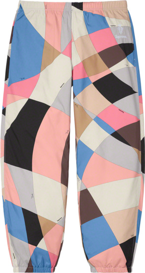 Supreme X Emilio Pucci Geometric Sport Pants