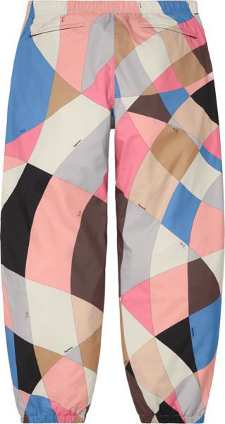 Supreme X Emilio Pucci Multicolor Block Trackpants