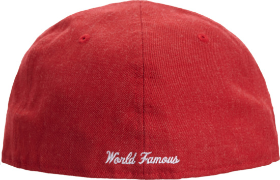 Supreme X New Era Red 59fifty