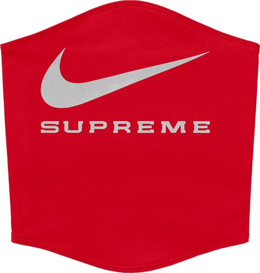 Supreme X Nike Red Neck Warmer