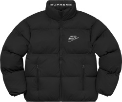 Supreme X Nike Ss21 Black Puffy Jacket