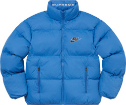 Supreme X Nike Ss21 Blue Puffy Jacket