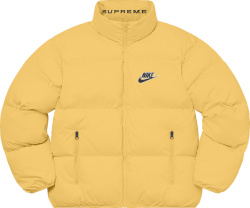 Supreme X Nike Ss21 Yellow Puffy Jacket